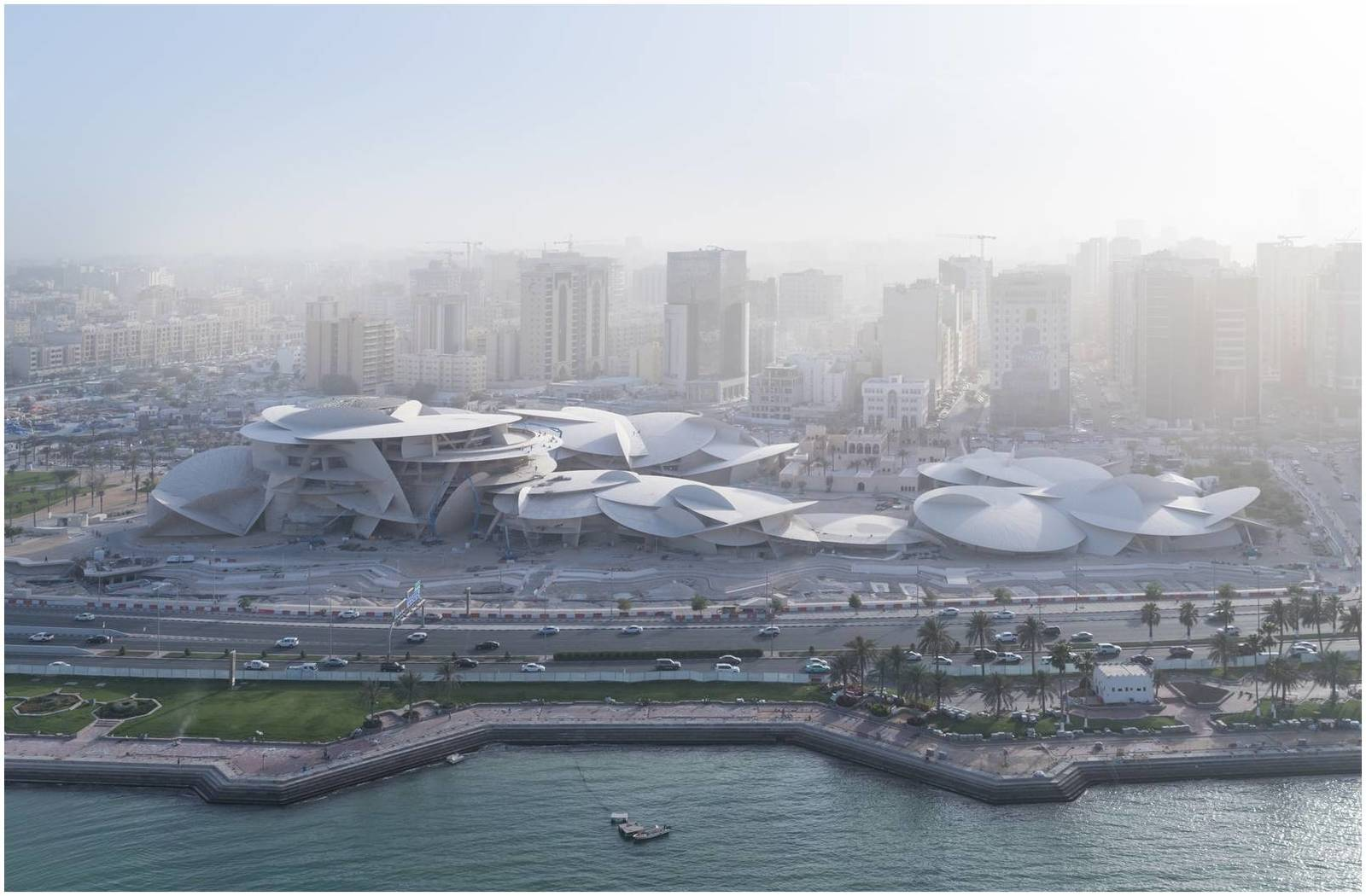 Musée national du Qatar,Bâtiments
