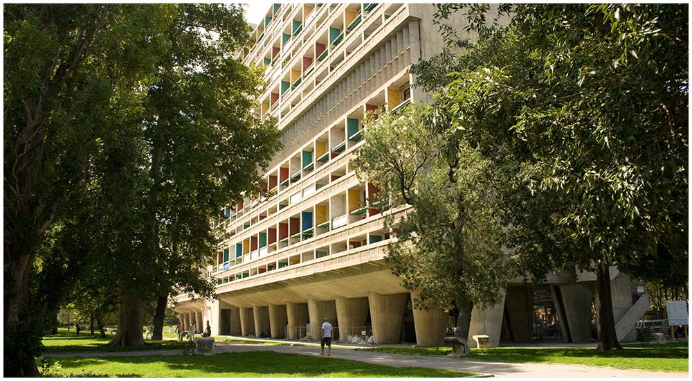 Architecture brutaliste:Cité Radieuse, Marseille