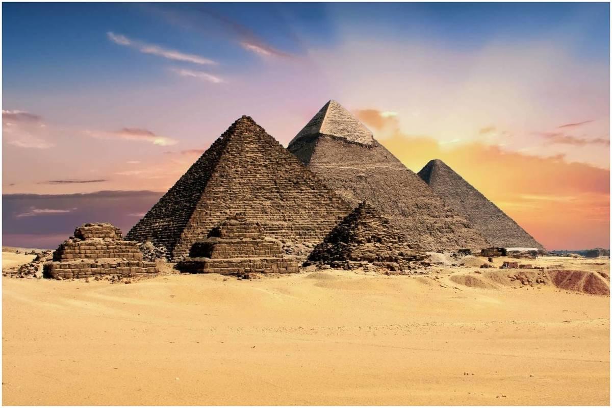 Architecture égyptienne:Les pyramides