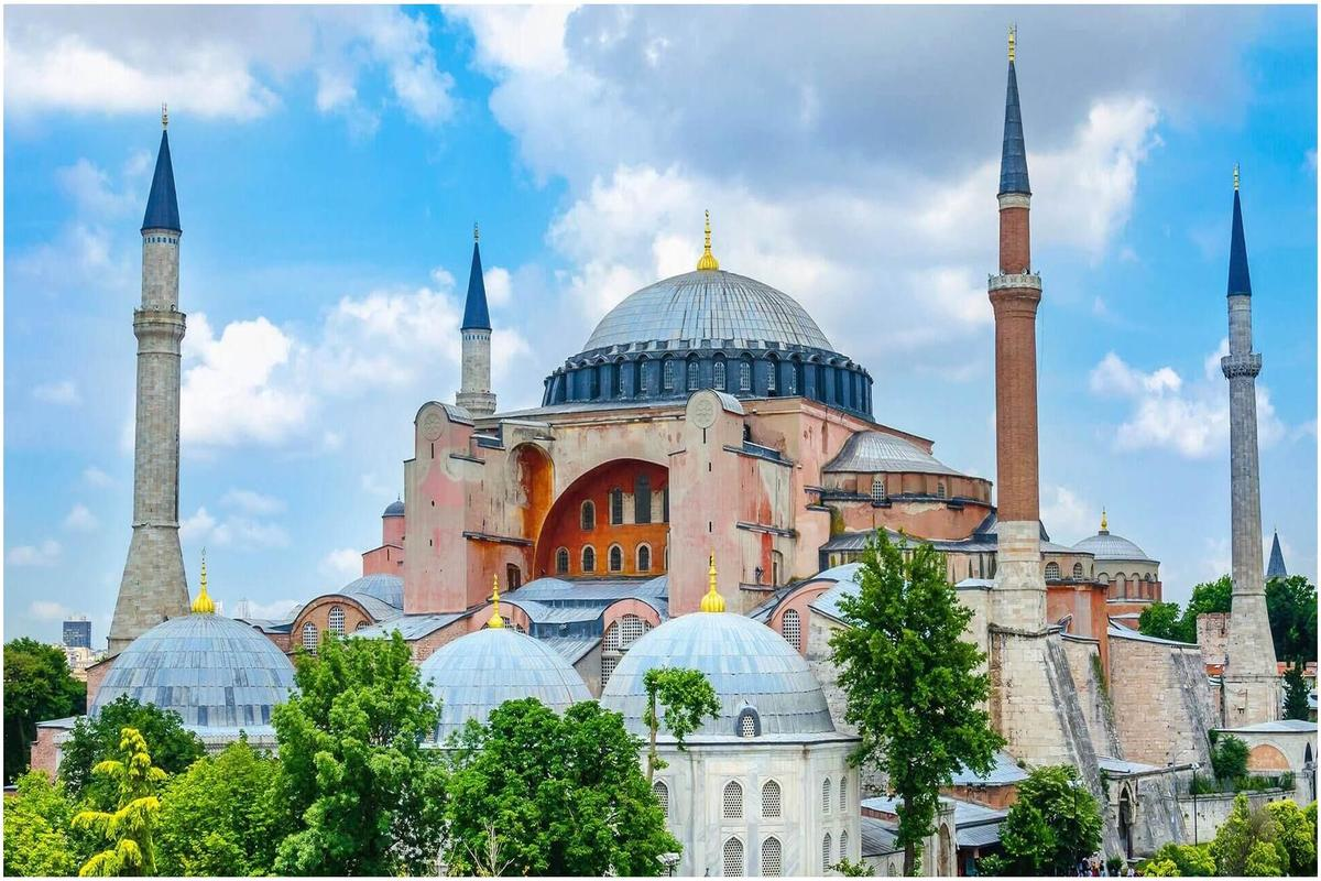 Architecture byzantine:AyaSofya