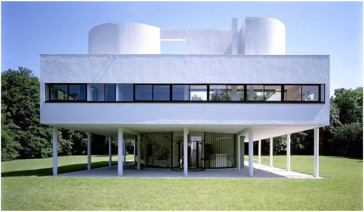 Architecture moderne:Villa Savoye