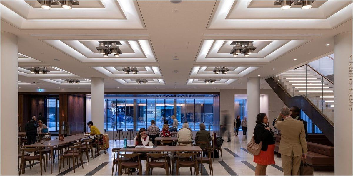 Architainment, architecture commerciale d'un restaurant
