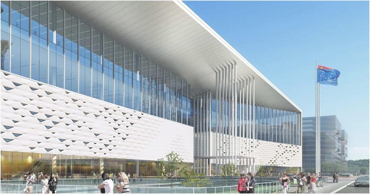 Architecture commerciale Chinese National Convention Center Pekin Création de Portzamparc