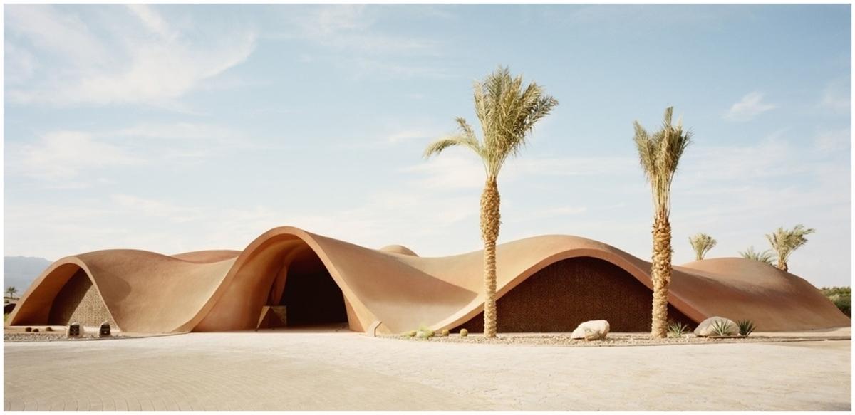 Architecture organique béton projeté