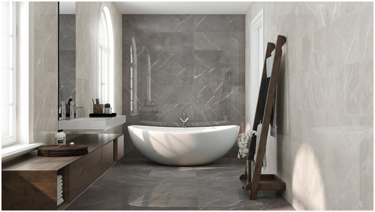 revêtement céramique salle de bain