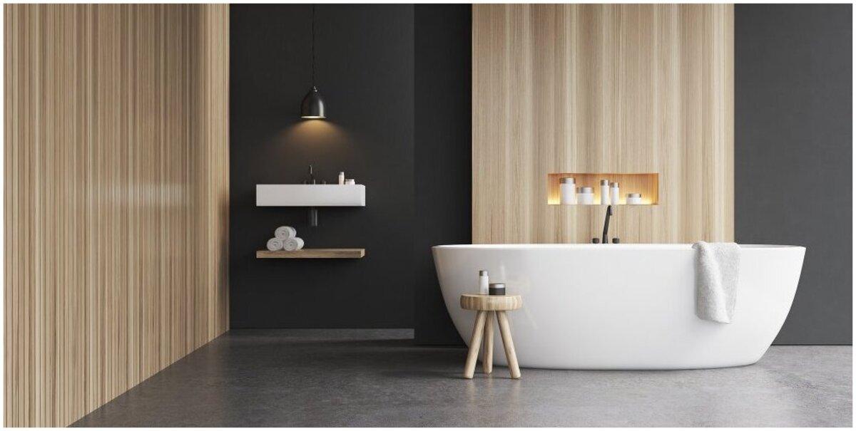 revêtement de sol antidérapant salle de bain