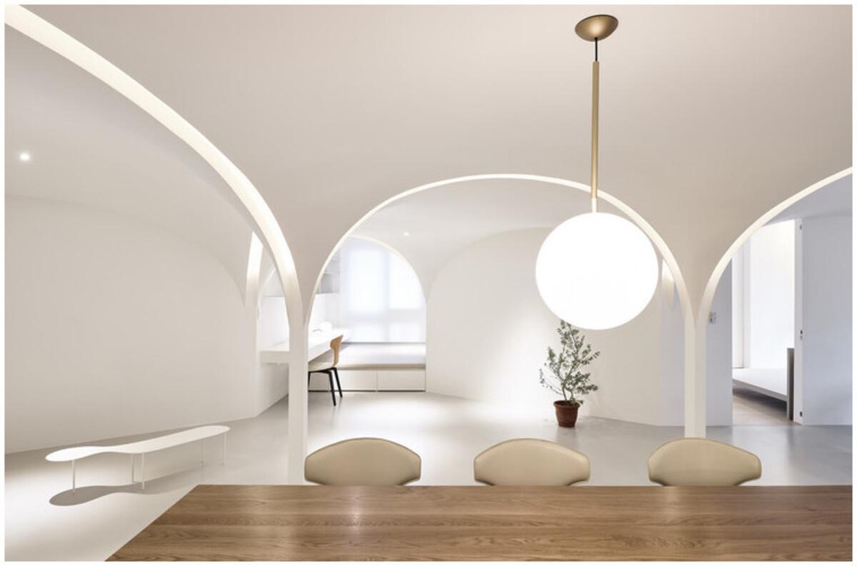 Lumière architecture d'intérieur