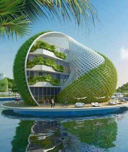 Evolution de l'architecture commerciale