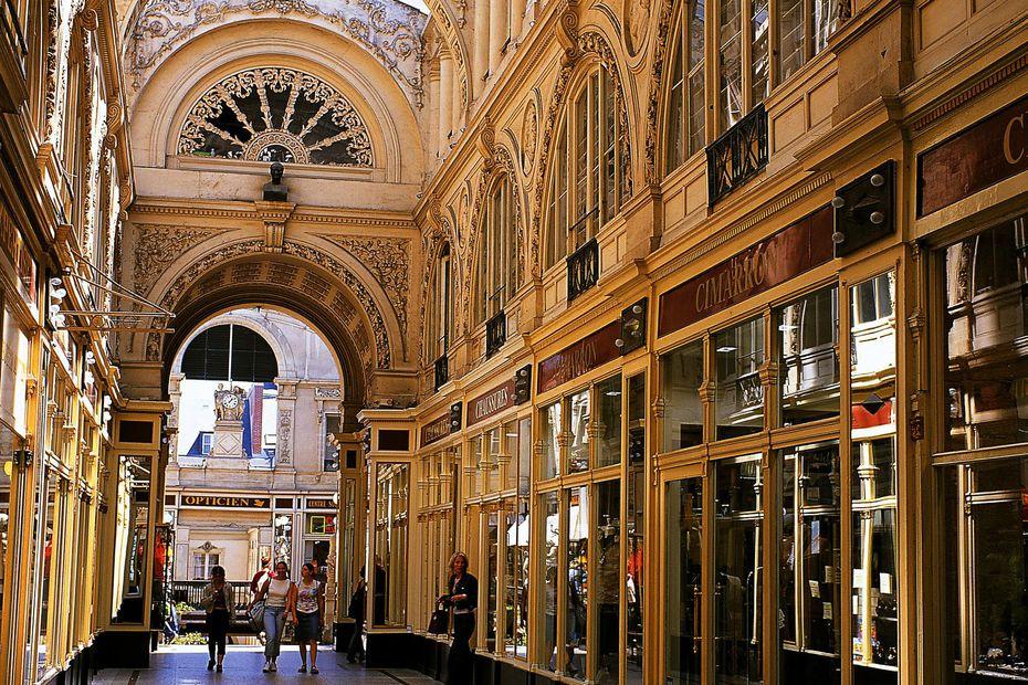 Le passage Pommeraye à Nantes, bel exemple de passage urbain