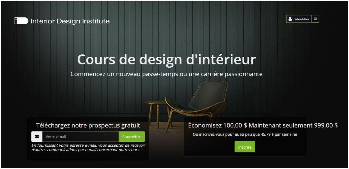 formation en ligne pour les architectes d'intérieur