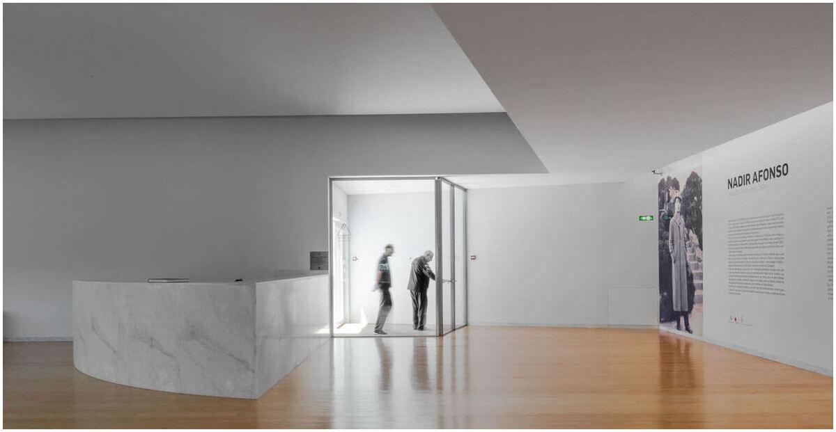 Musée d'art contemporain Nadir Afonso – Shaves, Portugal / Álvaro Siza Vieira