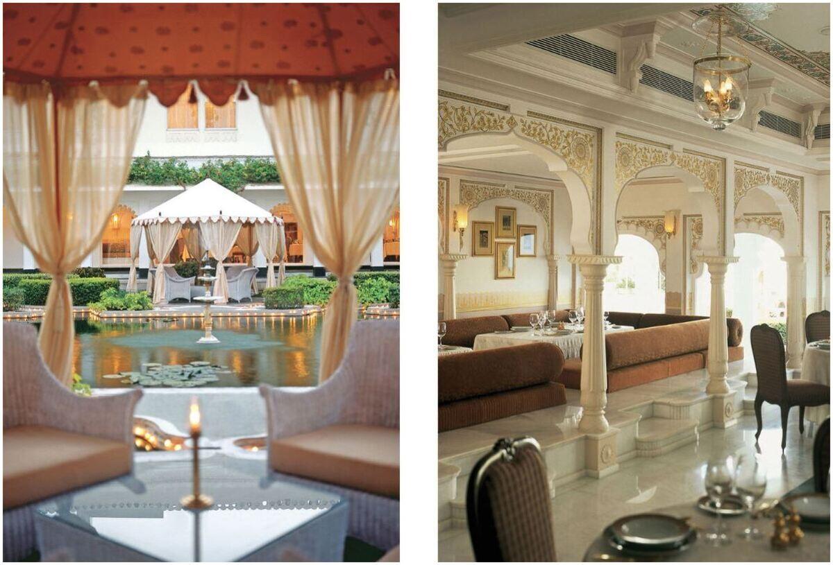 Lake Palace hôtel, Udaipur India