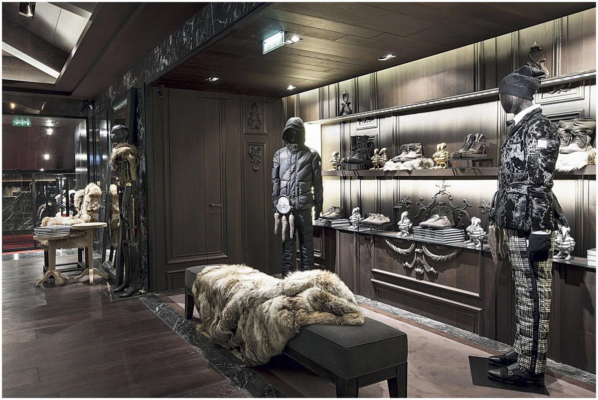 magasin de luxe Paris