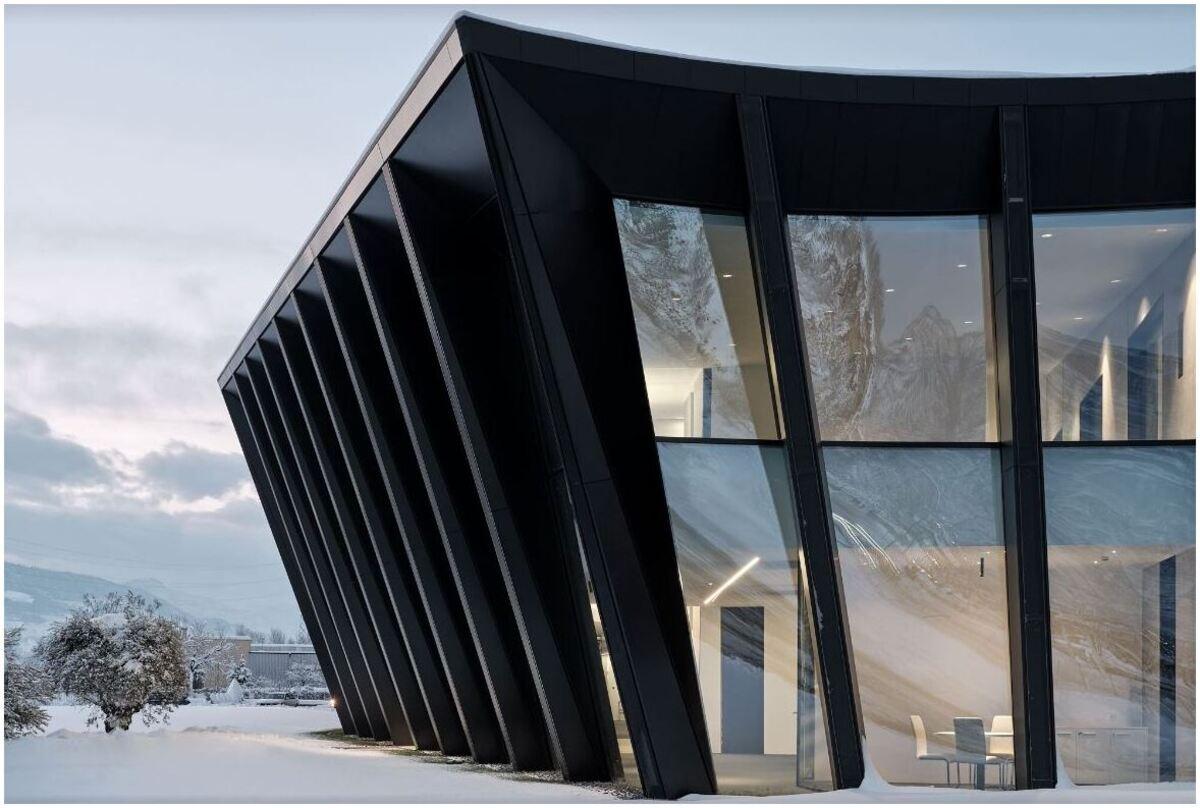 architecture commerciale moderne proche de la nature