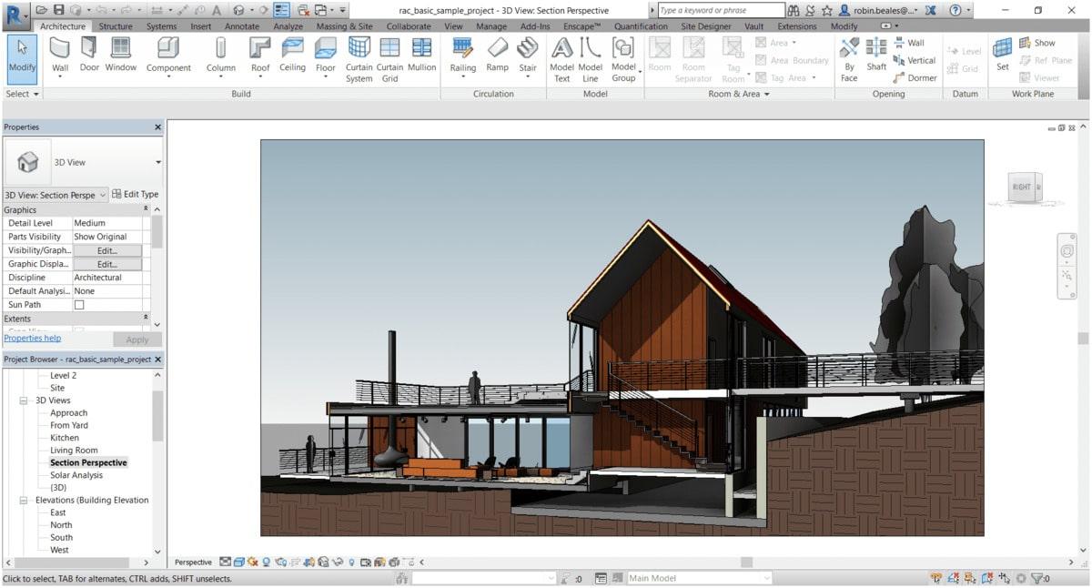 exercice revit architecture