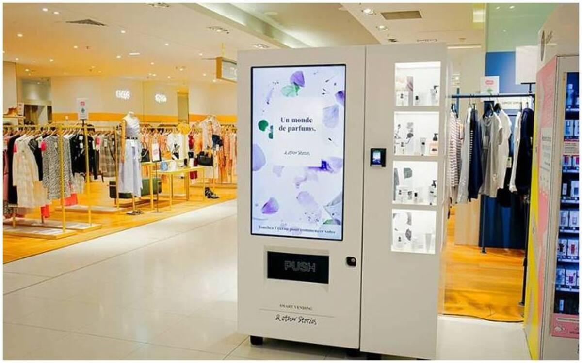 exemples de la technologie dans les magasins retail