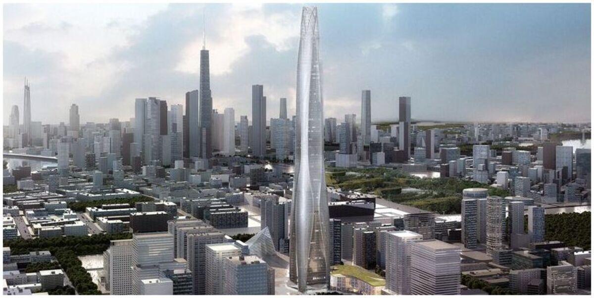 Centre financier du CTF de Tianjin