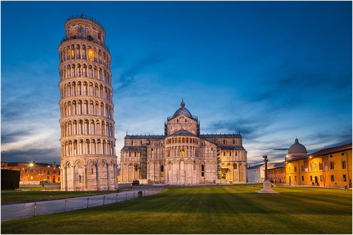 tours architecture, la tour de Pise