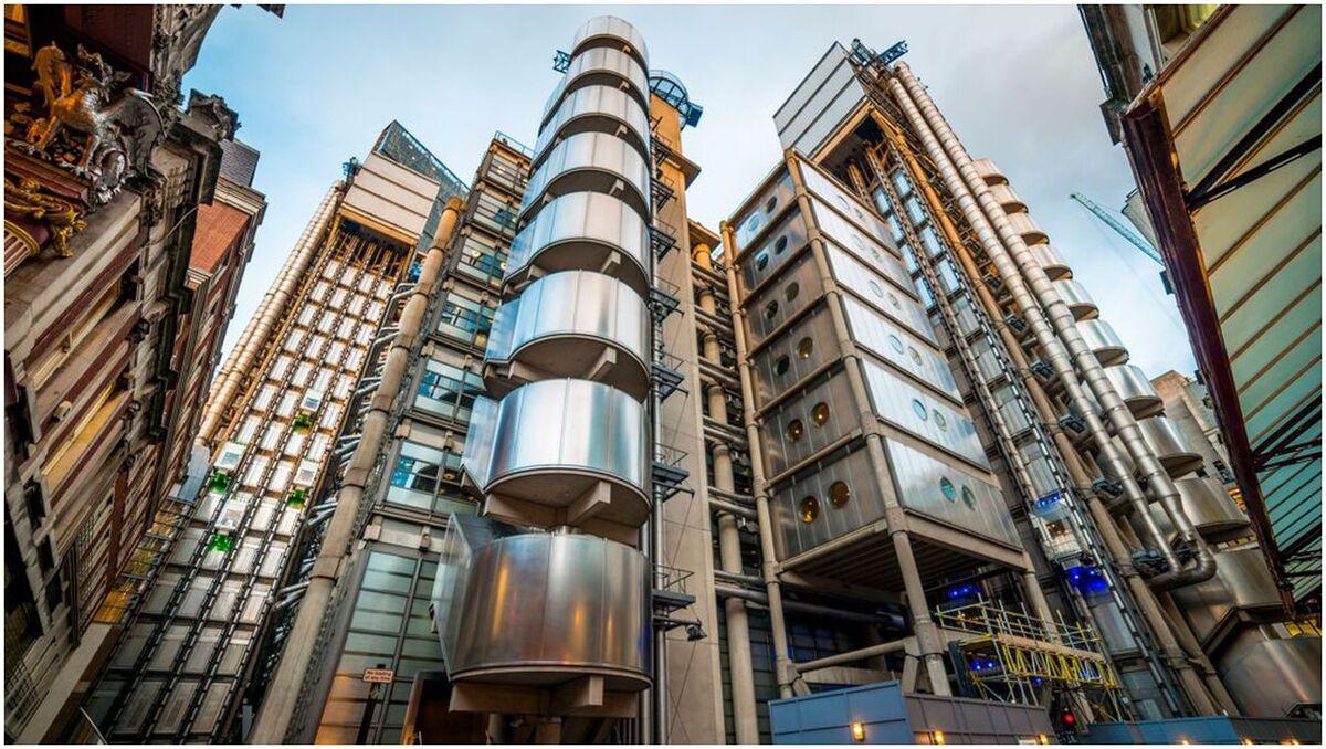 tours architecture, Bâtiment Lloyds, Londres